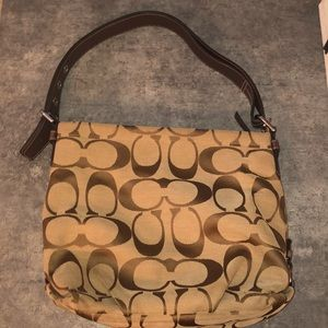 Authentic Coach purse. Brown decent condition